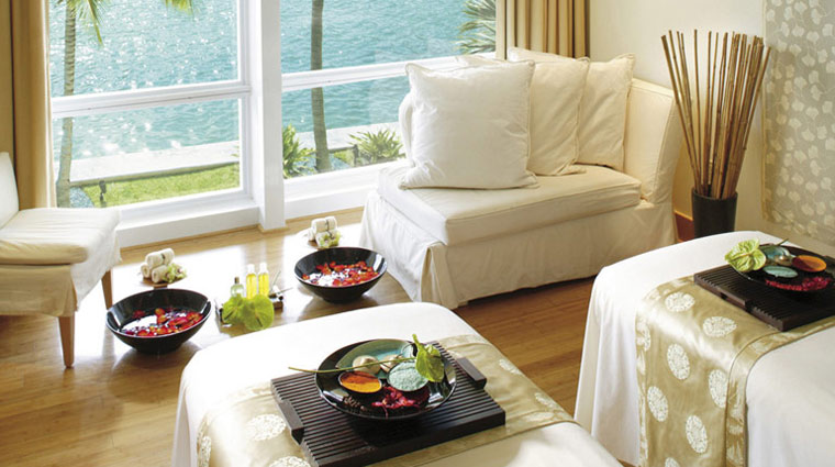 The Spa at Mandarin Oriental, Miami   The Spa at Mandarin Oriental, Miami, a Five-Star spa, is a three-story, 15,000-square-foot haven that's a destination in itself. Miamians book massage appointments here months in advance to take full advantage of the views and the work of the expert technicians.