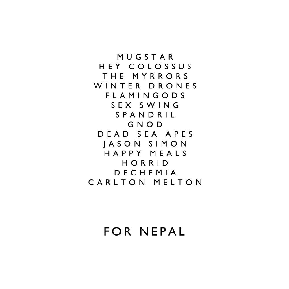 FOR NEPAL (2XLP) - RELEASED 2016 ON EVIL HOODOO / BENEFIT FOR NEPAL EARTHQUAKE VICTIMSdetails here- https://fornepal.bigcartel.com/product/for-nepal