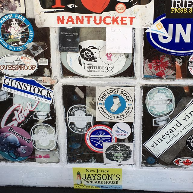 Someone in Bermuda has good taste in breakfast! #jaysonsstickertour #jaysonspancakehouse #jaysonsjumbo #lbibreakfast