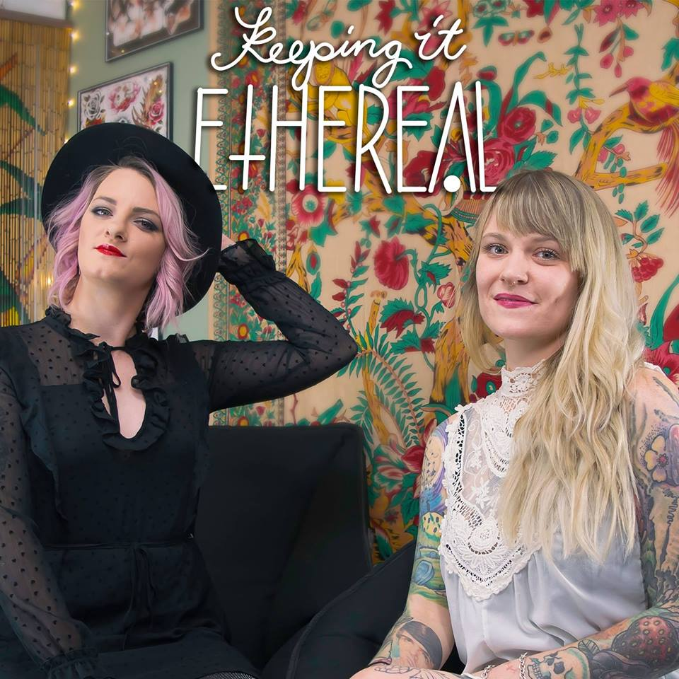 a podcast taking a comedic approach to all things Mental, Physical and Spiritual Wellness. - If you love alternative medicine, crystals grids, a glass of wine and a dirty joke…Then Keeping It Ethereal is the podcast for you. Hosted by Carly Fanning, tattoo artist Kate Irvine and fellow musician Hannah Peterson, Keeping It Ethereal hits every point on your funny bone while talking about some real shit.www.keepingitethereal.com