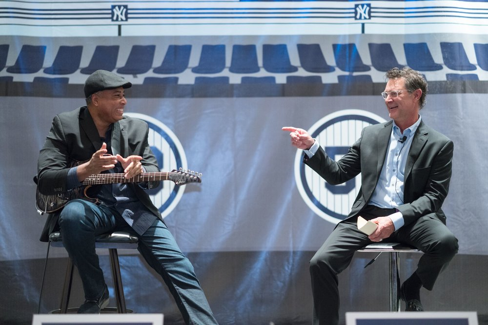 Don Mattingly and Bernie Williams