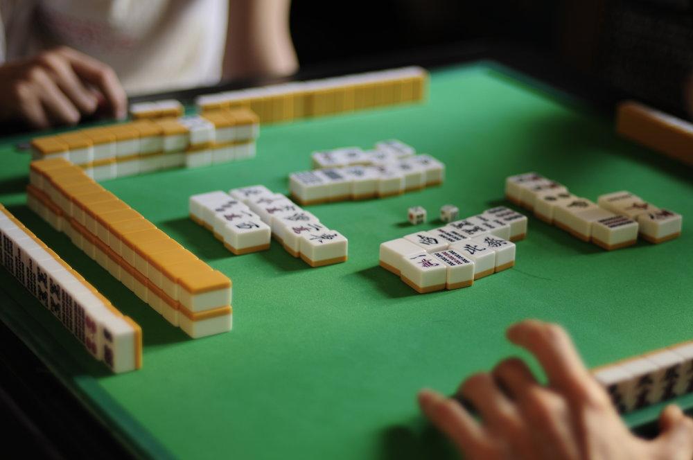 Mahjong - Every Monday, 9:30-12 p.m.