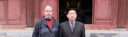 Master Chen Xiaowang with James Cravens