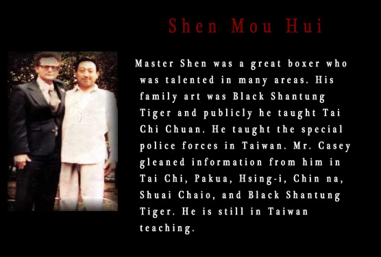 Christopher Casey with Shen Mou hui