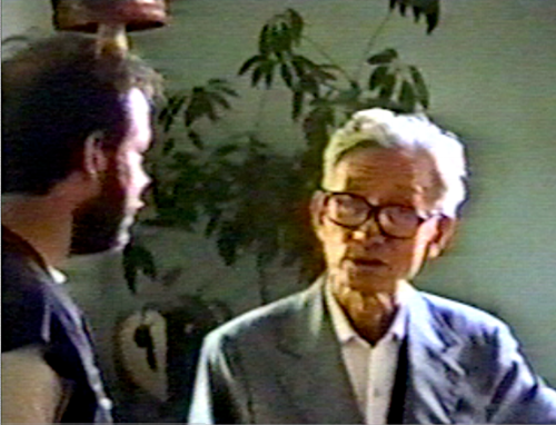 James Cravens with Master Tao Ping Siang (1990 Indianna)