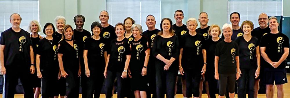 Tai Chi Class at Beach Community Center, Ft Lauderdale, FL (Dec.,2017) ... Class began in January 2016.