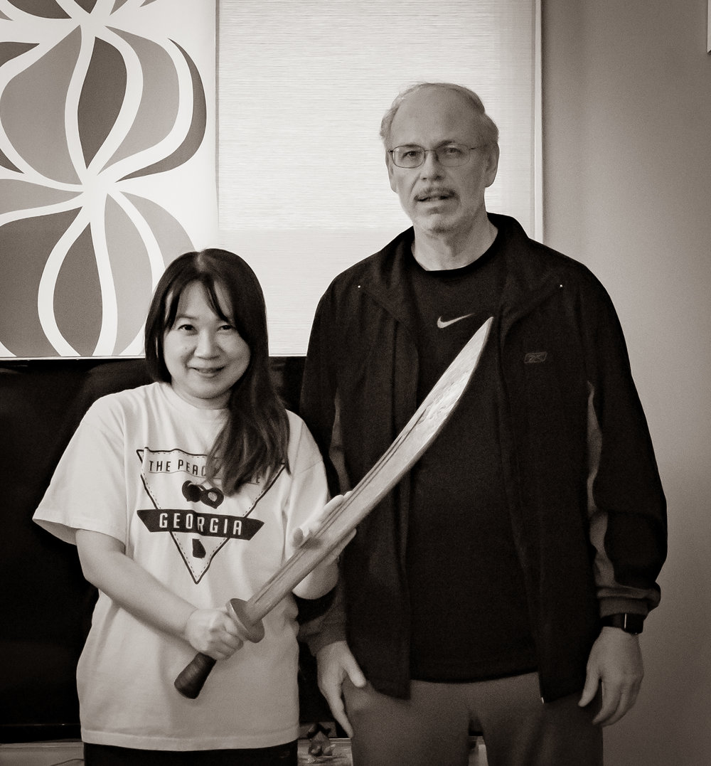 Sachiko Khaw and James Cravens