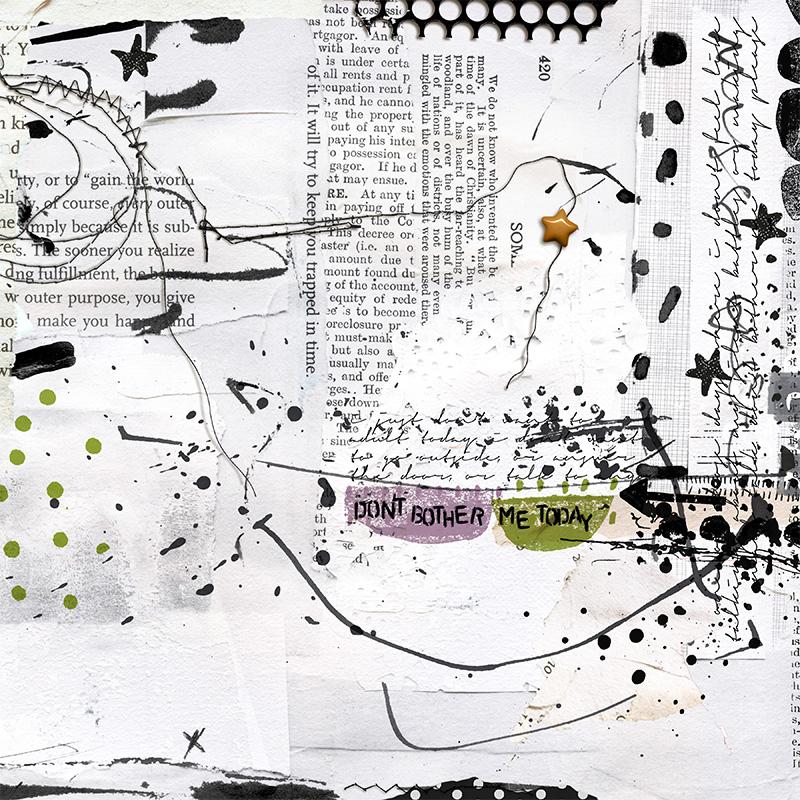 Digital Scrapbook Layout by Rachel Jefferies