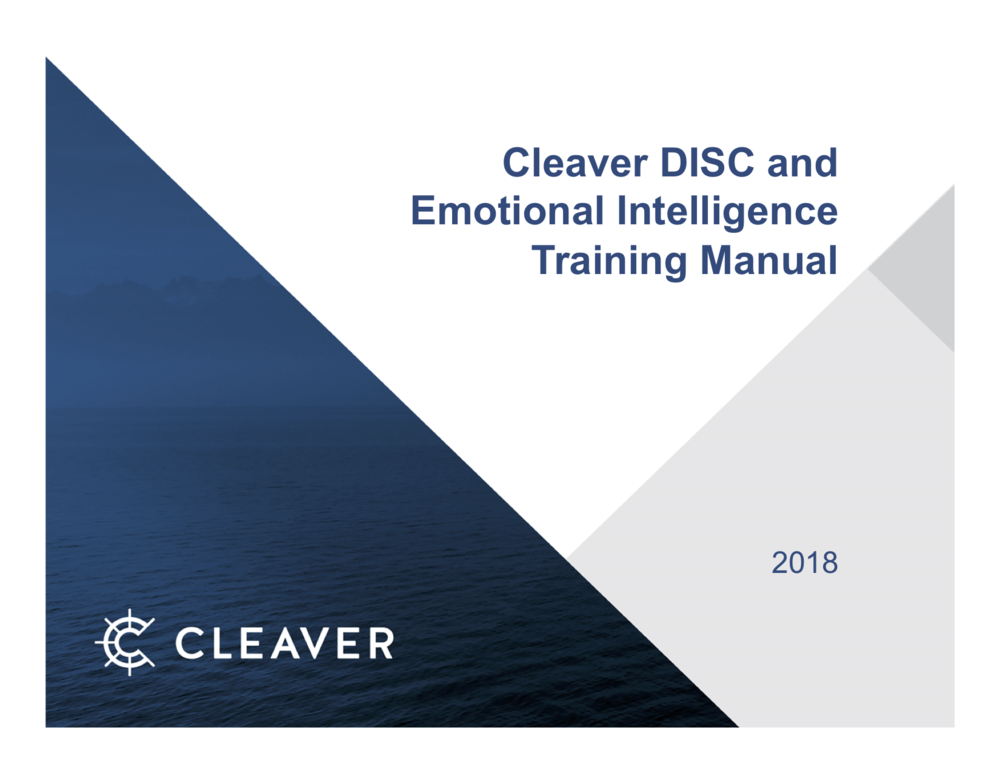 Cleaver DISC Training 2018.png