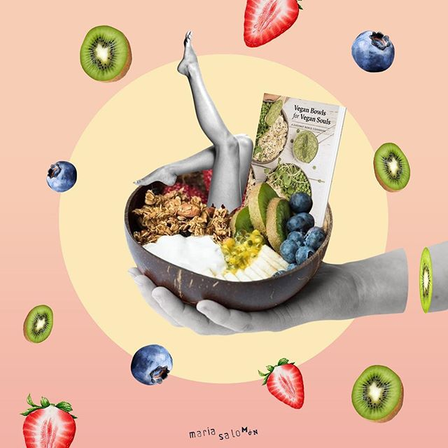 The most tasty giveaway!!! Go to @coconutbowls @veganbowls @vitamix @canonusa @buddha_bowls #collage #cutandpaste  #digitalcollage #digitalart #artwork #art #collageartist #paperart #vintage #design #collageart #collageoftheday #collagework #collageonpaper #instagood #collagem #collageofinstagram #love #contemporarycollage #fabacollagemag  #cuttingedge #paper #nicecream #coconutbowls #veganbowls #healthylife #veganbowlsforvegansouls #vitamix