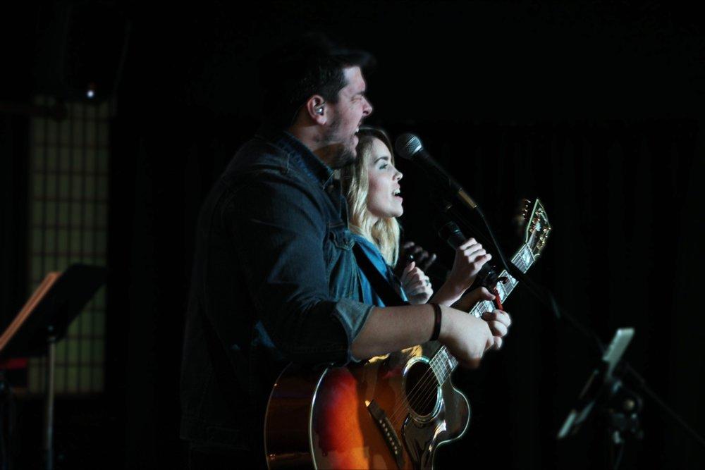 Daniel & Michelle Cowan - Worship Pastors