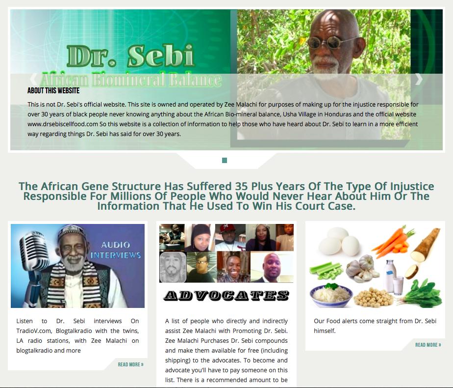 Advocates for Dr  Sebi — SolFull Fam