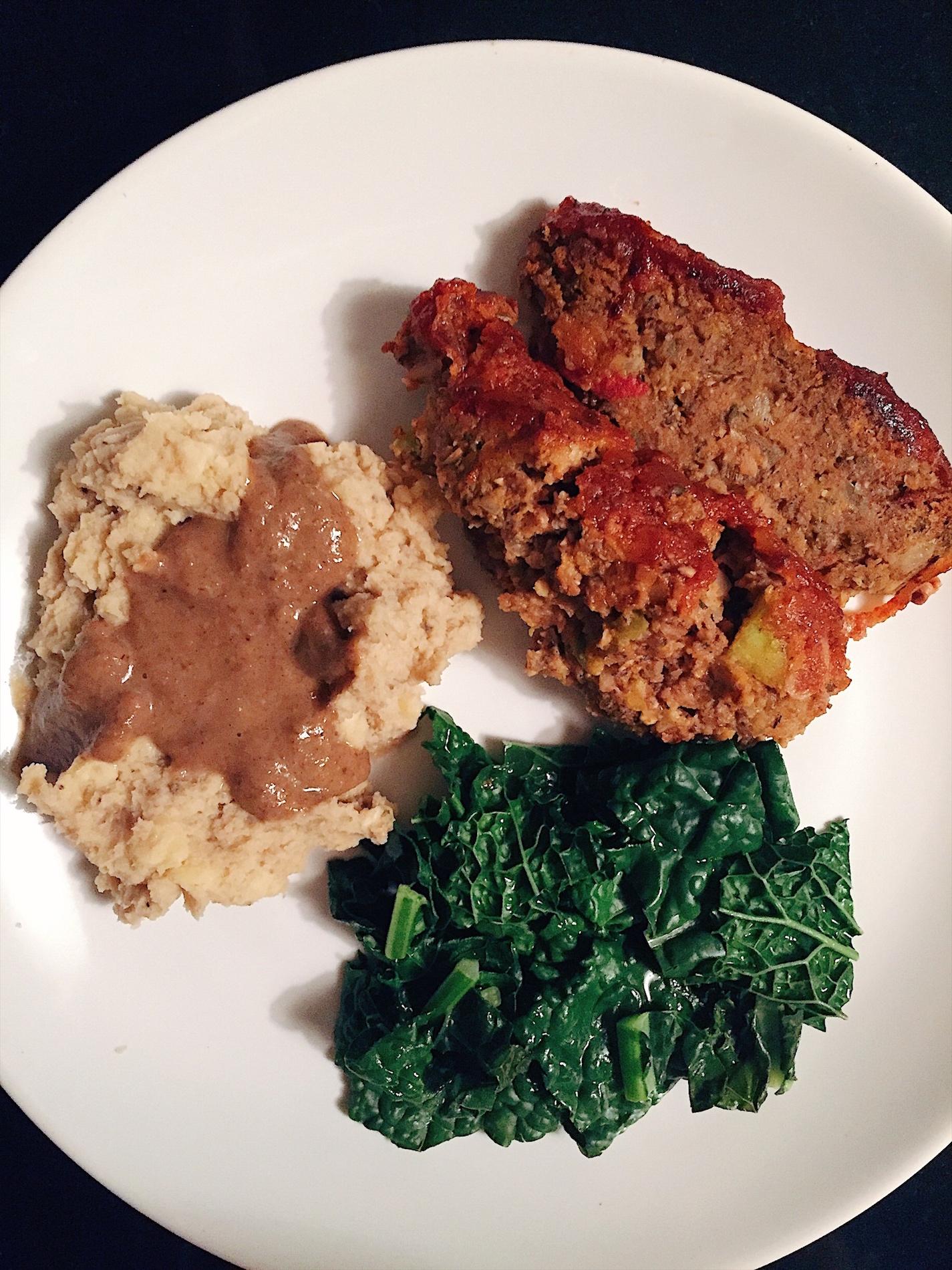 Alkaline Vegan Meatloaf — SolFull Fam