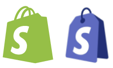 Shopify eCommerce and Point-of-Sale (POS) logos