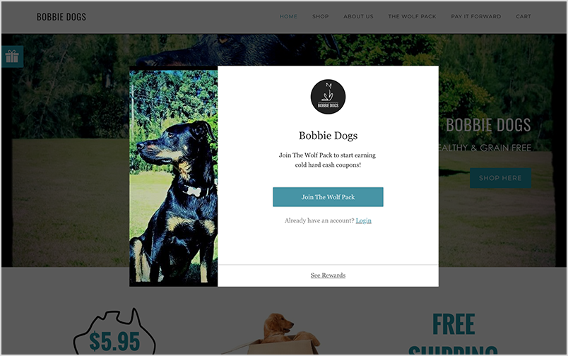 Bobbie Dogs Widget.png