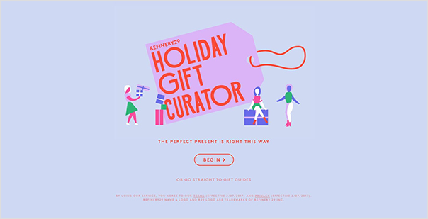 Refinery 29's Gift Curator