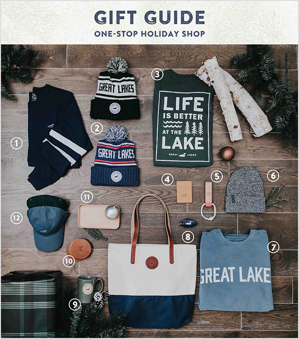 Great Lakes' holiday gift guide