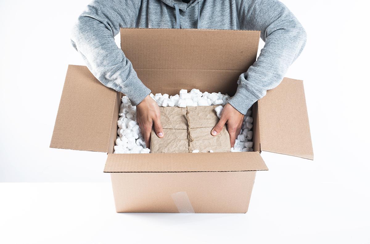 Carefully packning shipments