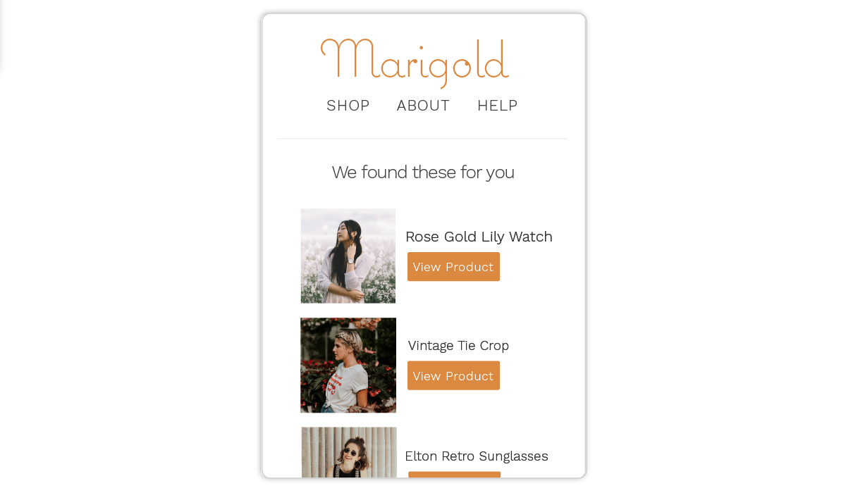 Marsello product recommendations in First Time Customer Email Automation