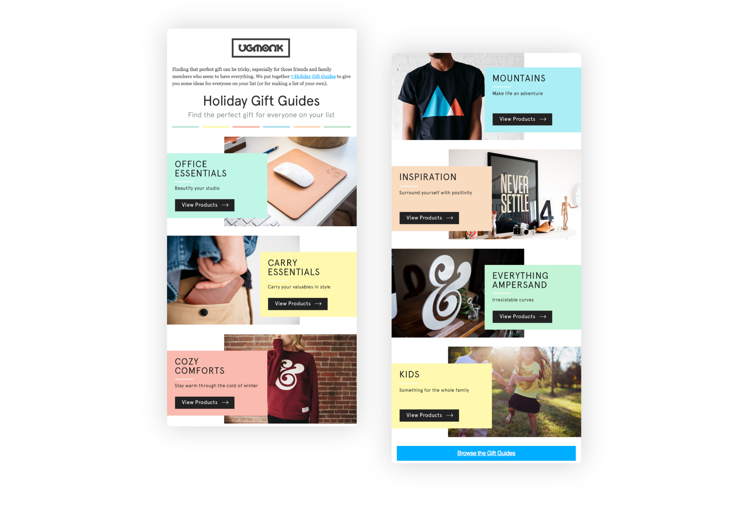 UGMONK's holiday gift guide