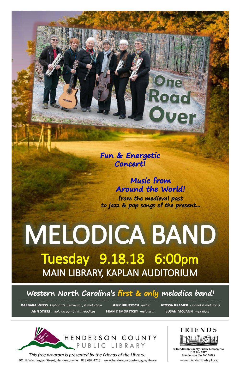 Melodica One Road Over.jpg