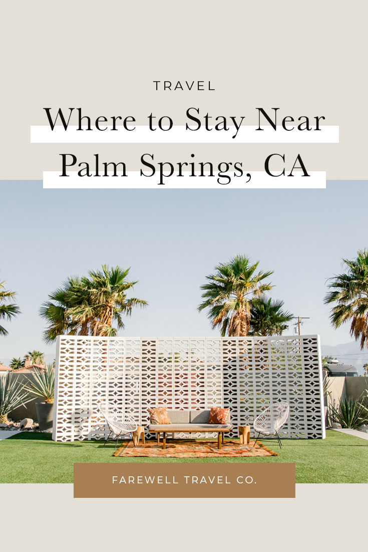 Where to Stay in Palm Springs, California | The Lautner Compound
