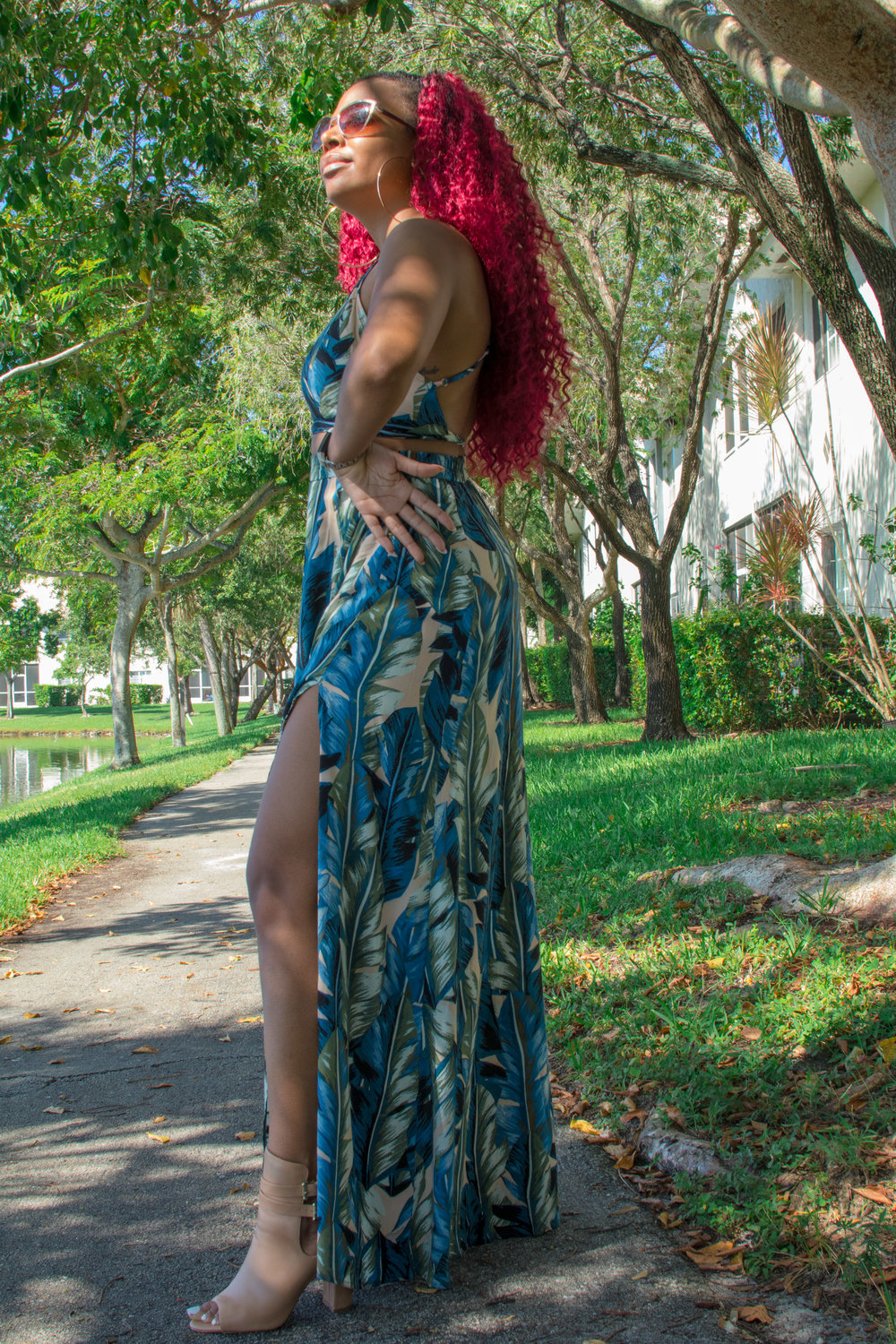 Hair: Freetress Deep twist tt530  Outfit:  Lulus   photo cred: @cinematic_ visuals @rjp_ cinematicvisuals