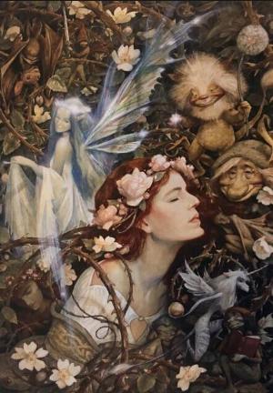 """""""Sleeping Beauty""""by Brian Froud"""