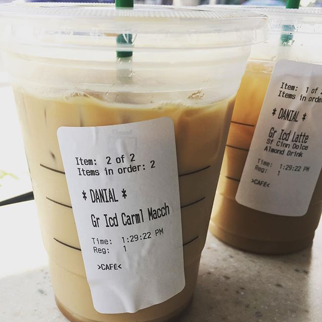 """Didn't know my name was """"DANIAL"""" or are they misspelling """"denial""""? #coffee"""