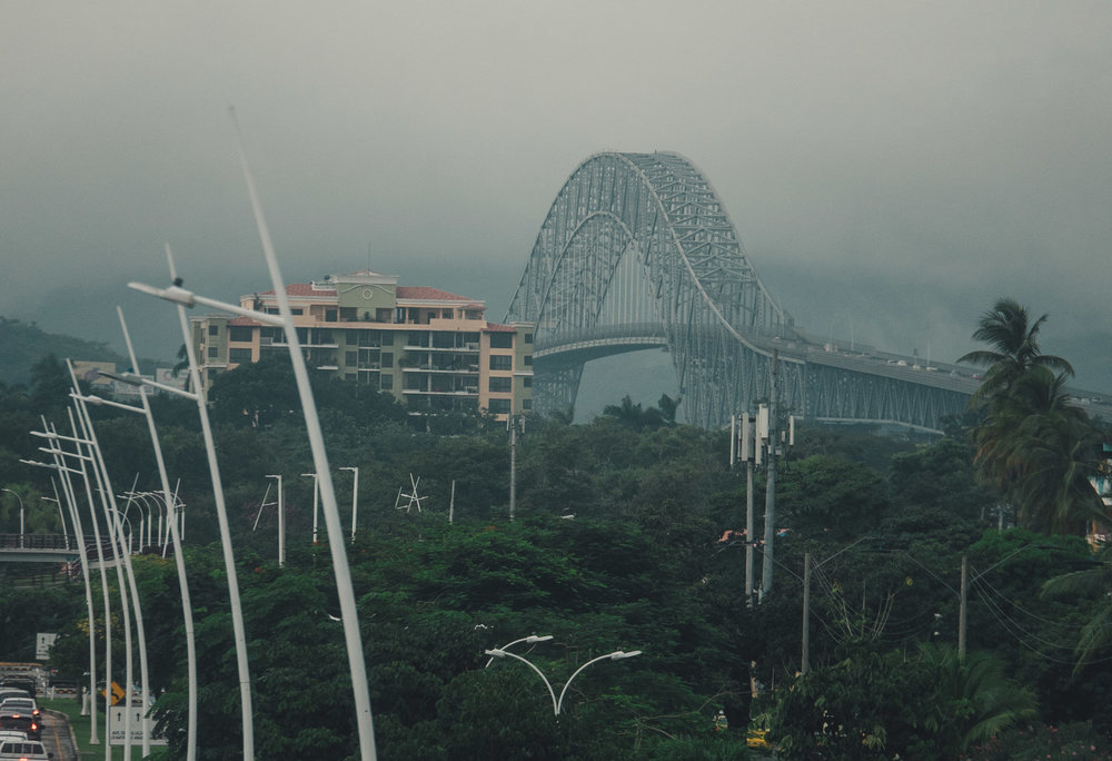 Bridge Of The Americas, over the Panama Canal