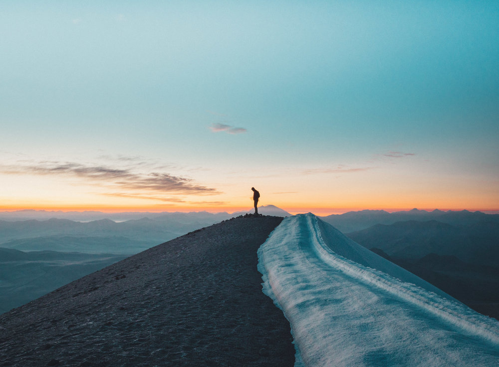 On top of Volcán Ticsani (5408m)