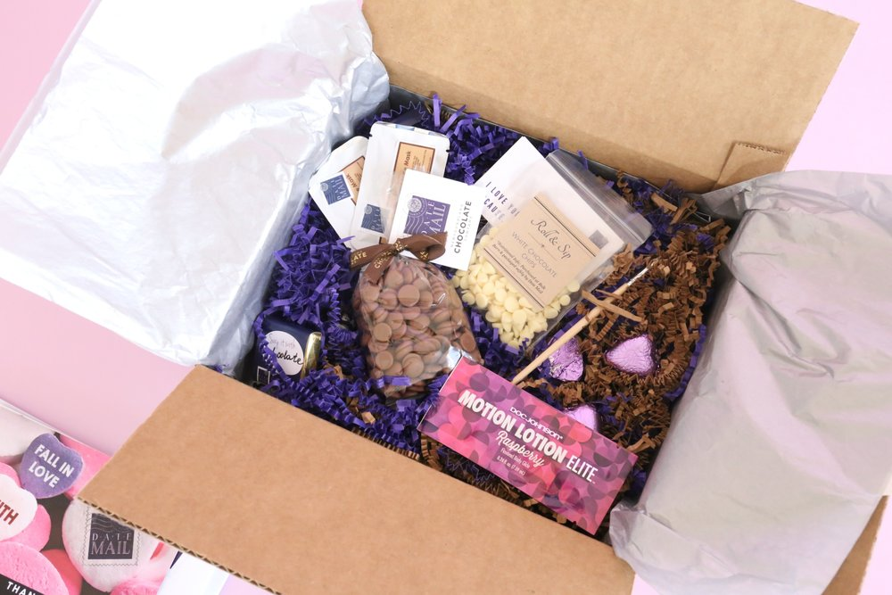 A Year Of Boxes is a company that reviews subscription boxes and they loved this tasty   'Shades     Of Chocolate'   box and posted this on their blog! Note: Products change up regularly.