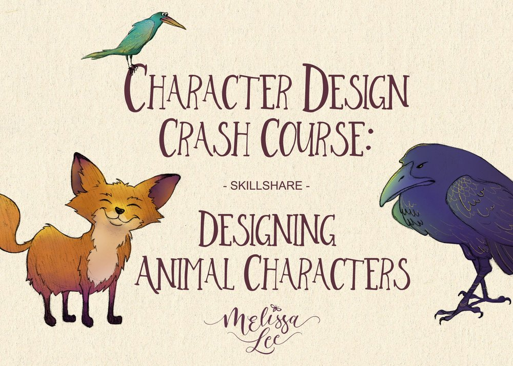 - Character Design Crash Course: Designing Animal Characters