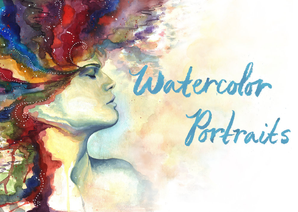 - Watercolor Portraits: Combining Realism and the Abstract