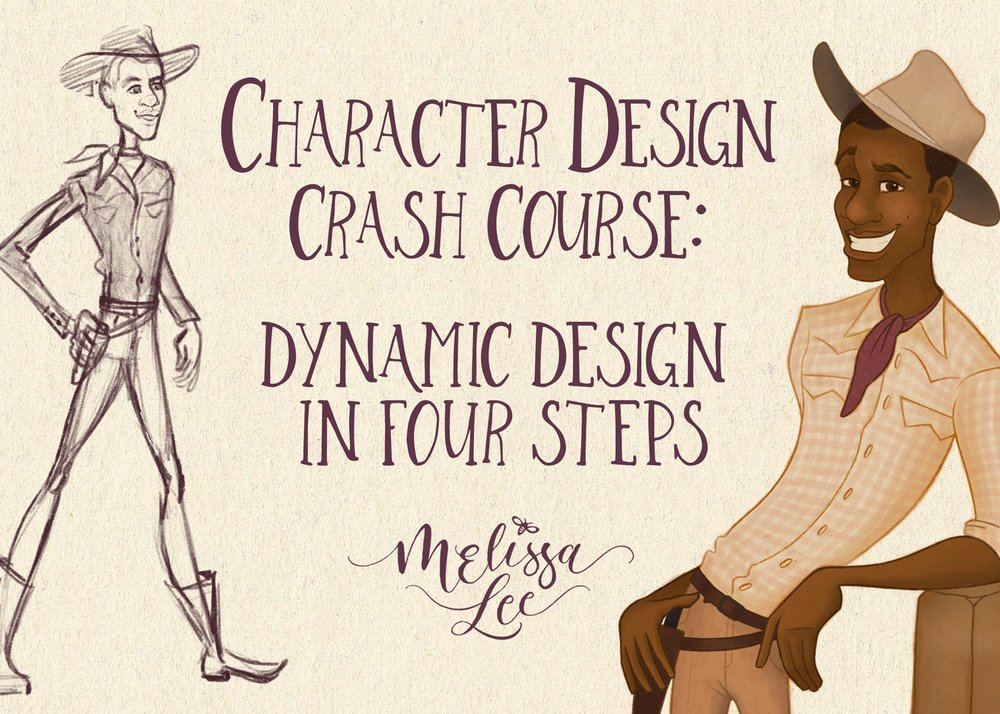 - Character Design Crash Course: Dynamic Design in Four Steps