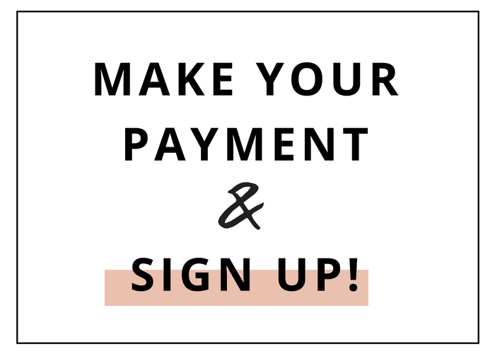 Step 2: Set up your Account - The sign up process is simple. You'll instantly gain access as soon as you sign up! You'll also get a special welcome email from yours truly, welcoming you into a world of branding relief!