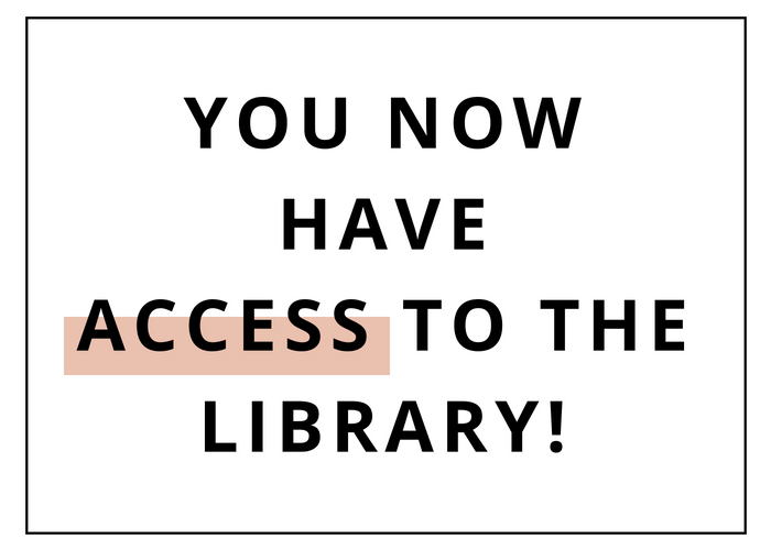 Step 3: Enjoy the Library! -