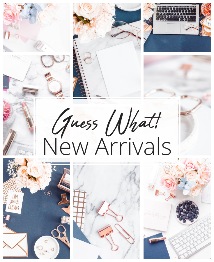 Navy and Rose Gold Stock Photos for bloggers and female entrepreneurs!