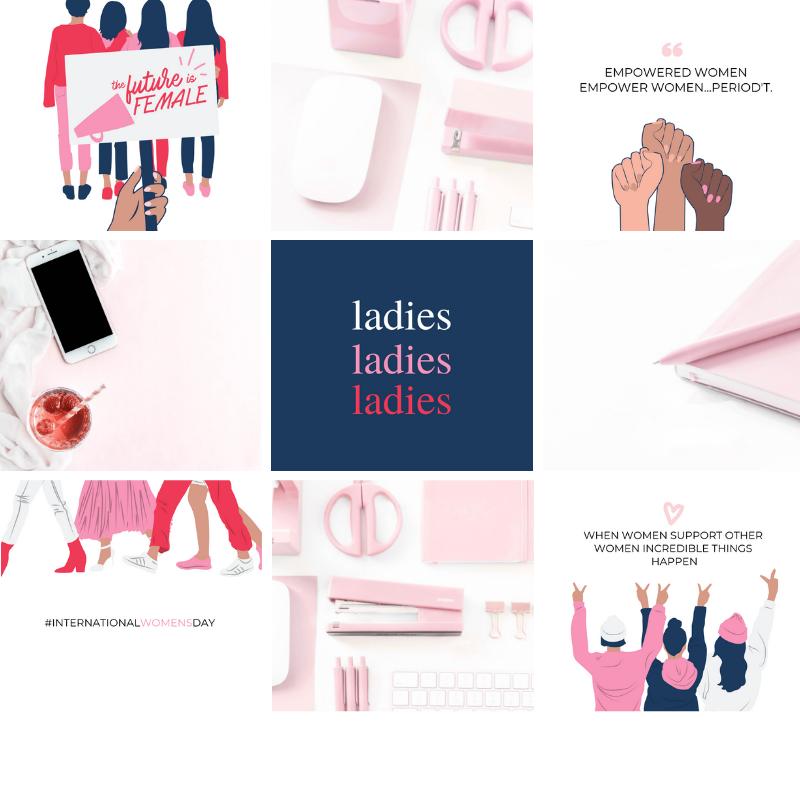 Social Media stock photos for women entrepreneurs