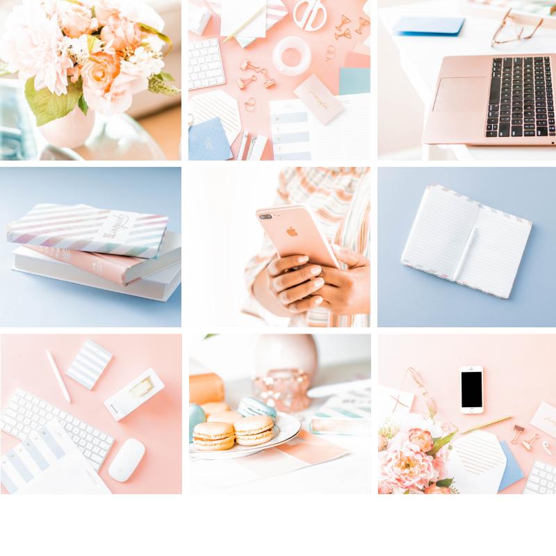 Coral stock photos for women entrepreneurs