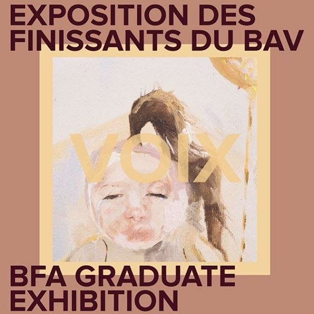 Our BFA Grad Show opens today! Stop by at our Vernissage on Friday! :) 100 Laurier Ave East, Visual Arts Building Vernissage: Friday 04/27 6-10pm Exhibition:04/25 to 04/29  #uoarts