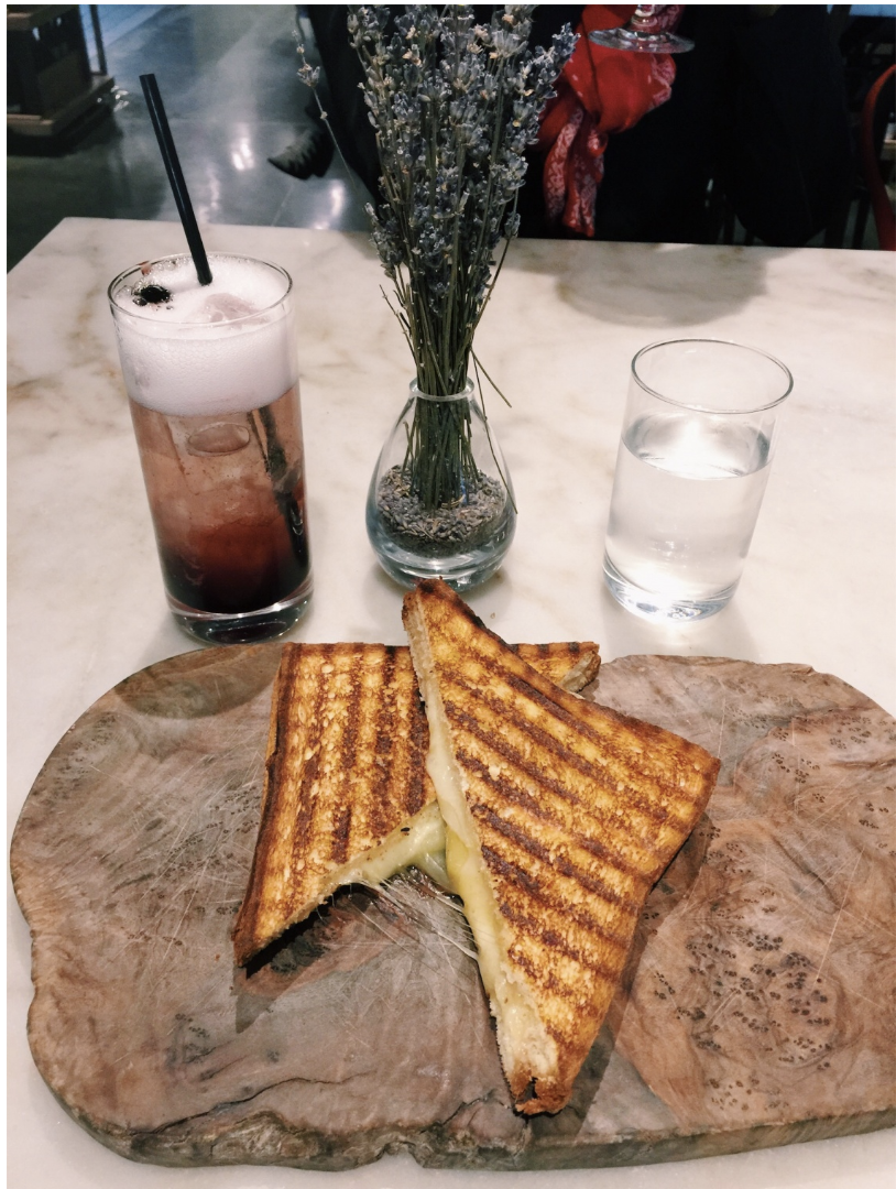 the super cheesy grilled cheese