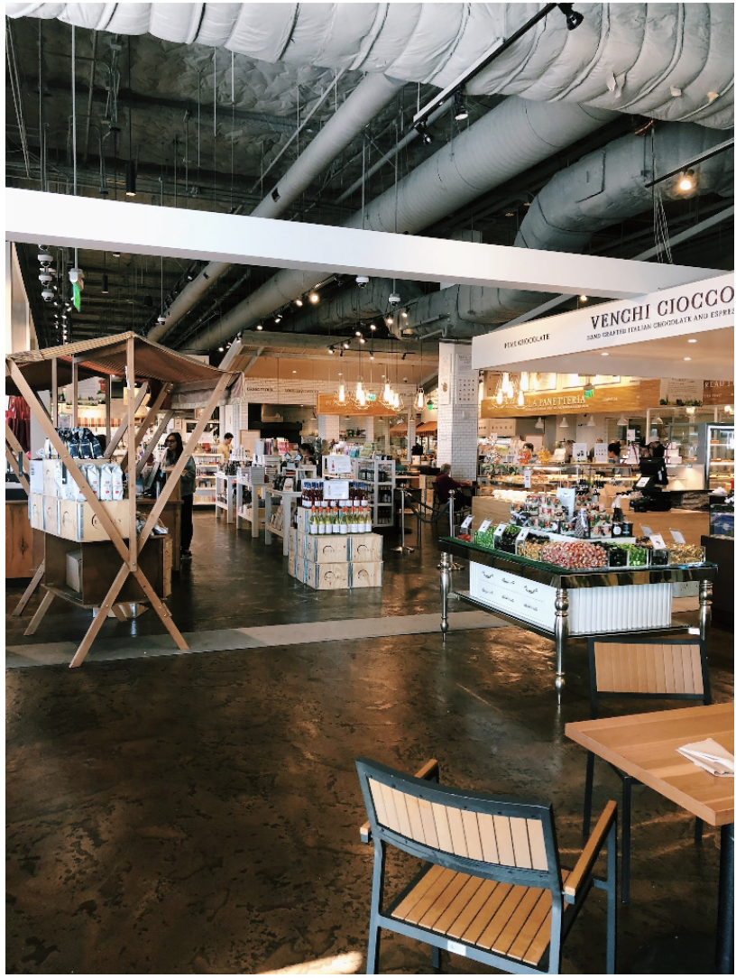 The interior of Eataly L.A.