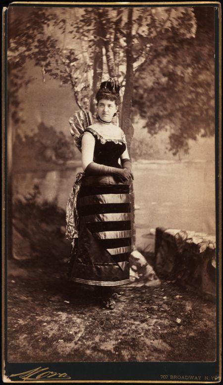 Mrs. William Seward Webb (neé Lila O. Vanderbilt). 1883