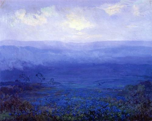 Robert Julian Onderdonk -Bluebonnets in Texas 1915