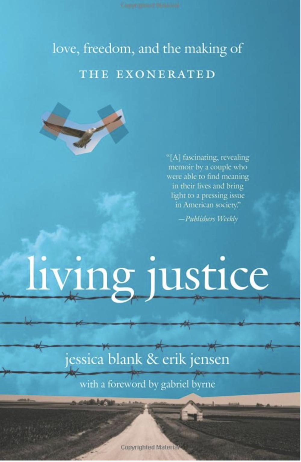 Book: Living Justice - By Jessica Blank & Erik Jensen