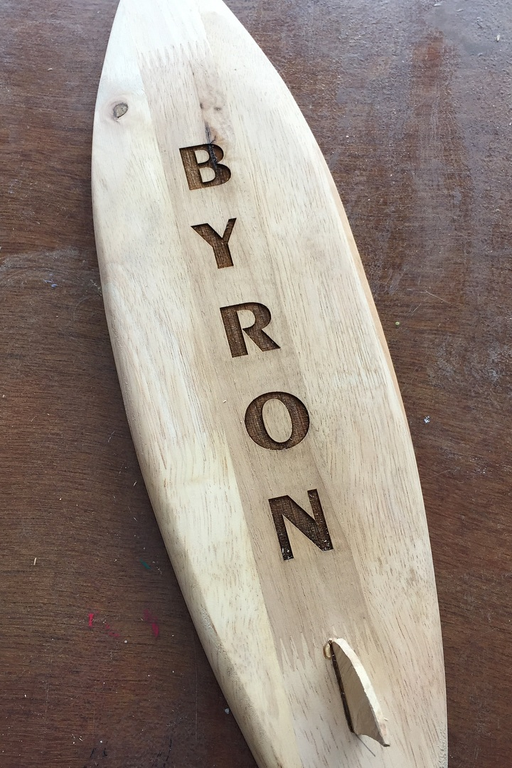 "Byron brought home from Bali,  the ""best souvenir"" he could buy!"