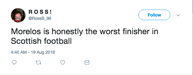 "Last year, he scored on 21% of his unblocked shots & 47% of his Shots on Target - both of those would put him among the top finishers in the league over the past four seasons....so definitley not the ""worst finisher""?"