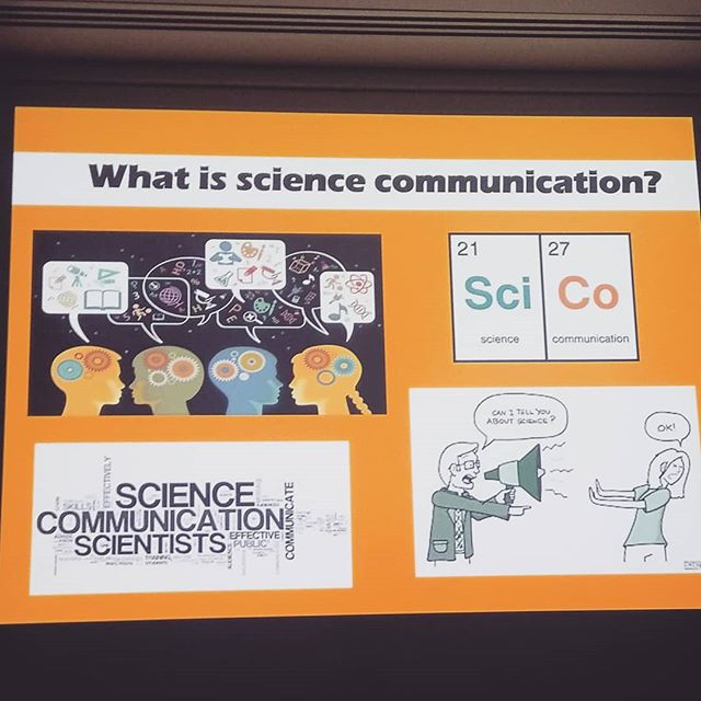 Amazing day today @griffithuniversity for the @wonderofscienceqld student conference! I ran a workshop for over 100 budding scientists on the importance of science communication and how to communicate science effectively.  One of the best parts of my job is being able to work with incredible science outreach programs like @wonderofscienceqld  #sciencecommunication #scienceoutreach #science #stem #stemeducation