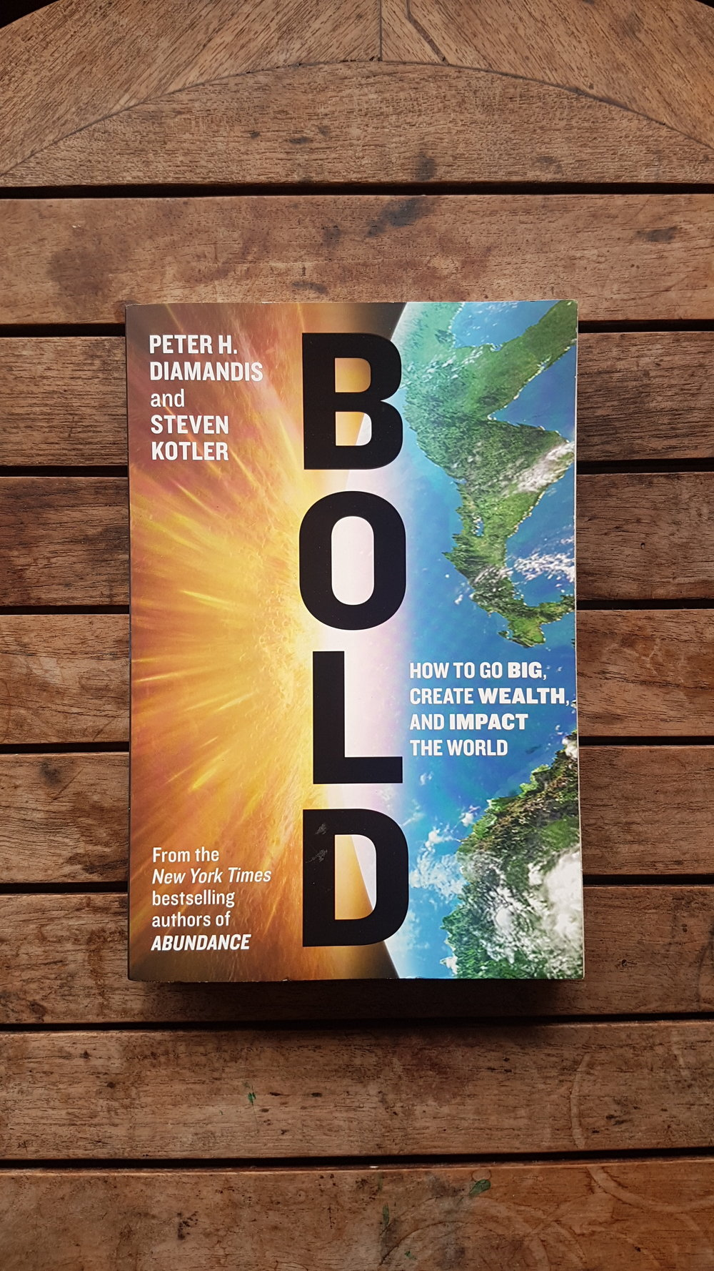 Bold: How to Go Big, Create Wealth and Impact the World   by Peter Diamandis